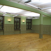 Historischer Saal Mittelstraße in Hallex