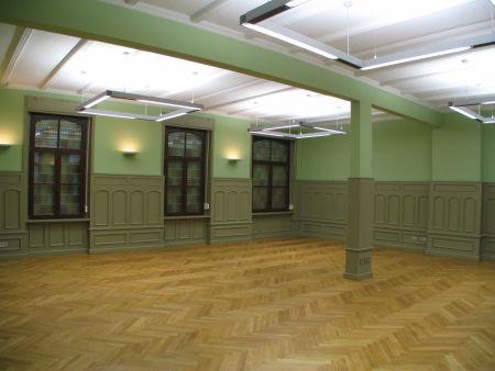 Historischer Saal Mittelstraße in Halle